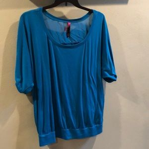 Pure Energy beautiful teal size 3 or 22/24 shirt